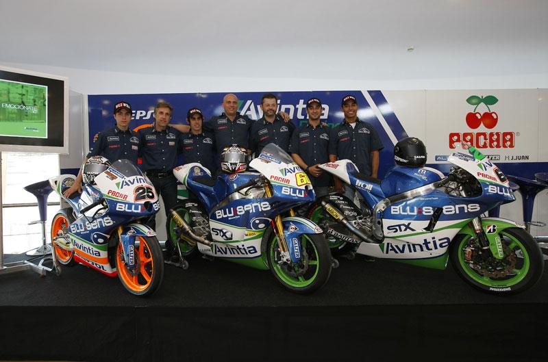 Presentación del equipo Avintia Racing