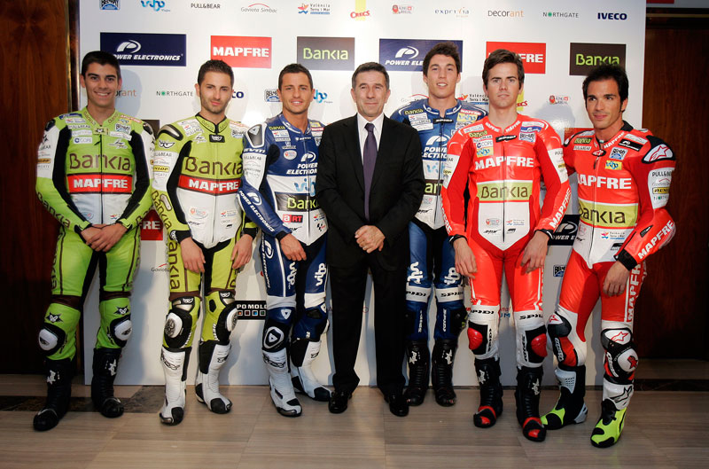 Presentación del Aspar Team, la familia del Mundial de MotoGP