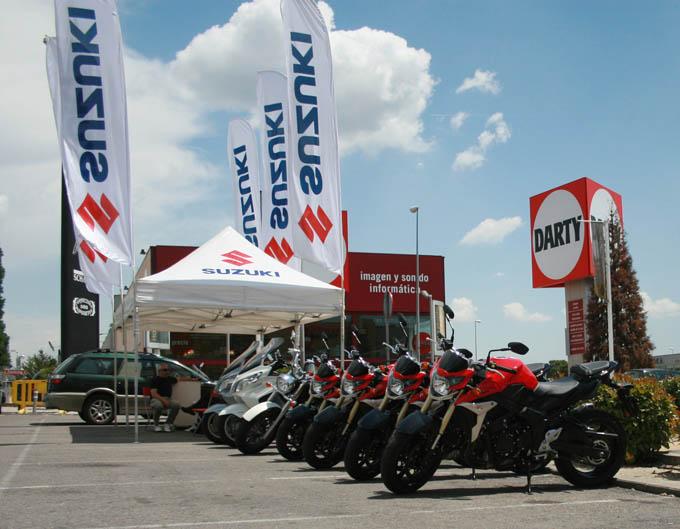 Vuelven los Suzuki Test Days