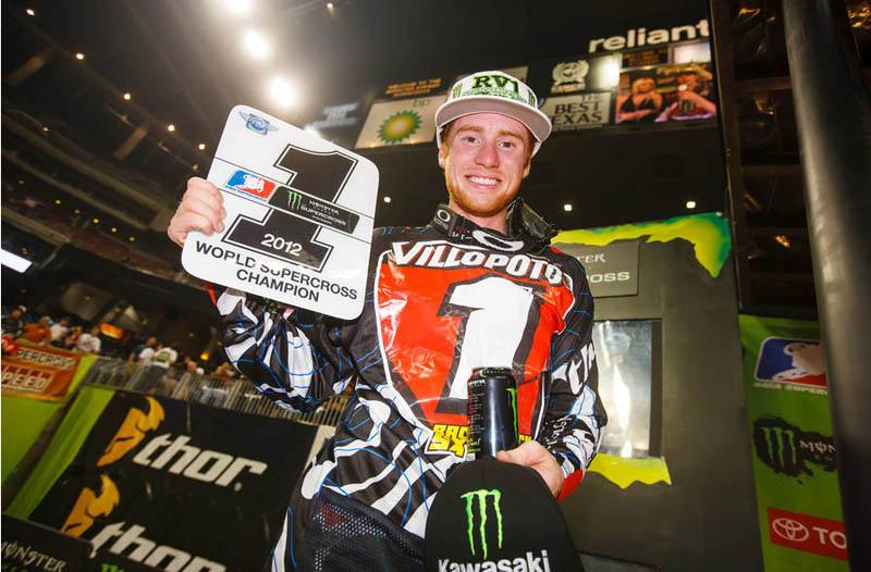 Villopoto se proclama campeón del AMA Supercross