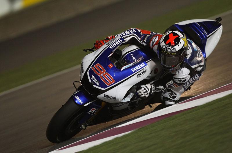"""Lorenzo, Luthi y Cortese saldrán desde la """"pole position"""" en el Gran Premio de Qatar"""