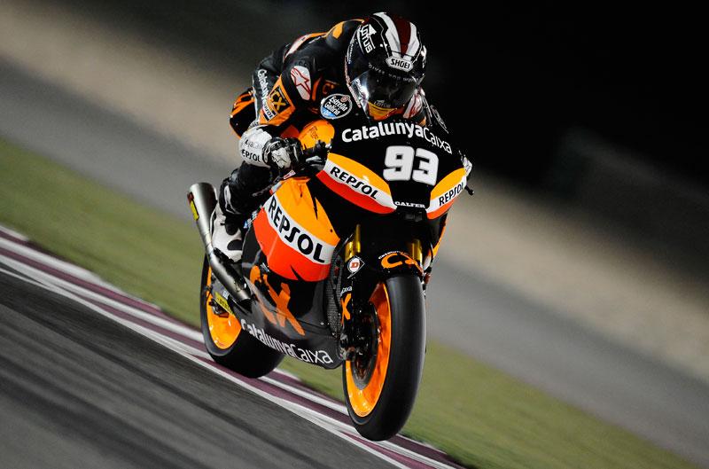 Marc Márquez, victoria en el Gran Premio de Qatar de Moto2