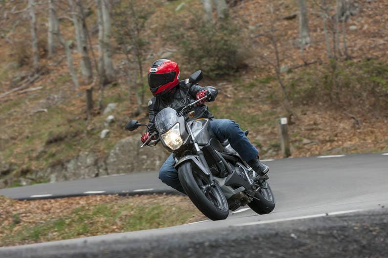 Honda NC700S. Primera prueba