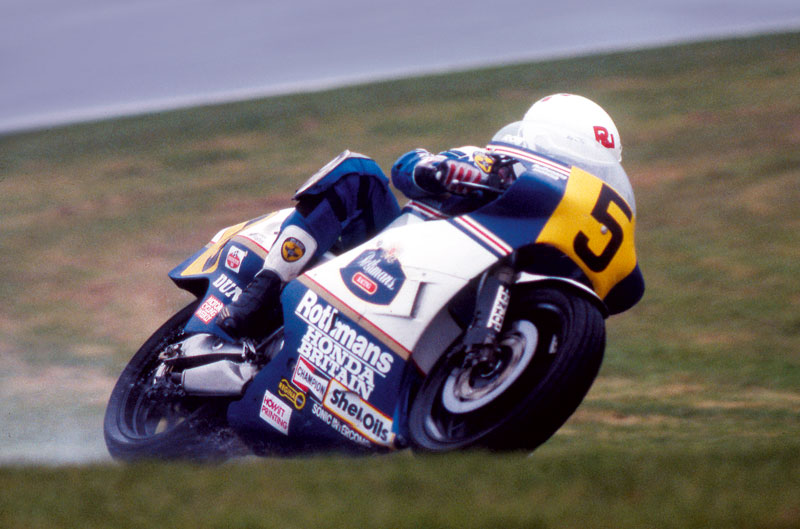 Mi mejor carrera. Ron Haslam. GP de Holanda 1985
