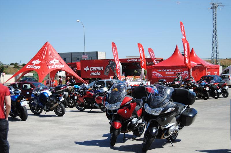 Actividades de MOTOCICLISMO en el Circuito de Jerez