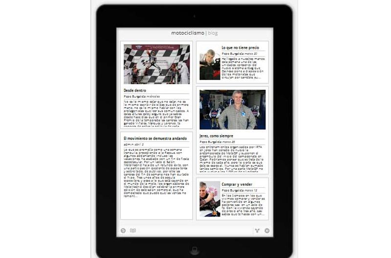 Motociclismo, ahora en iPad, iPhone y dispositivos Android