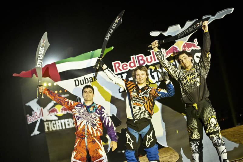 Levi Sherwood vence en Dubai
