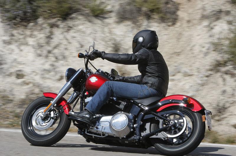 Harley-Davidson FSL Softail Slim: la top model