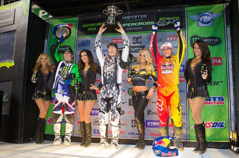 Andrew Short logra su primera victoria en el Supercross USA
