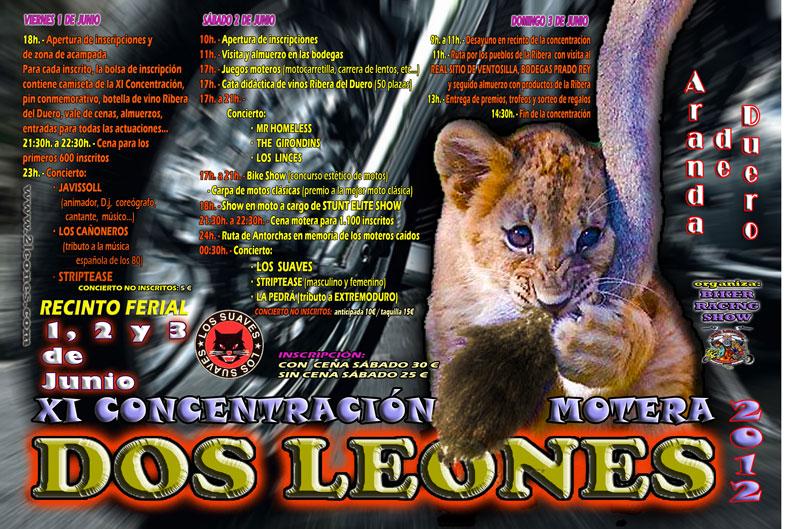 XI Concentración Motera Dos Leones