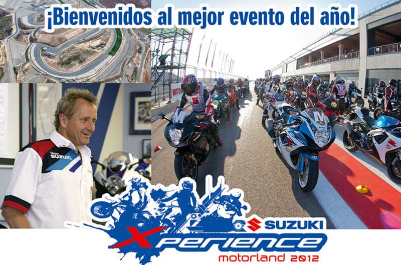 La Suzuki Xperience 2012 aterriza en Motorland