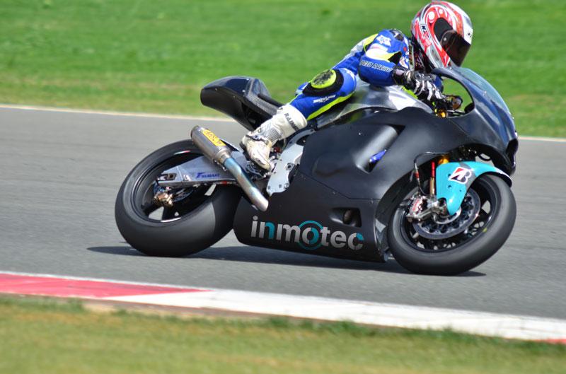 El equipo Avintia con Silva estrena chasis Inmotec en Jerez
