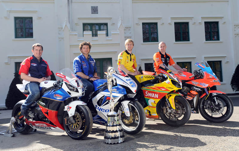 Presentación del TT Isla de Man 2012