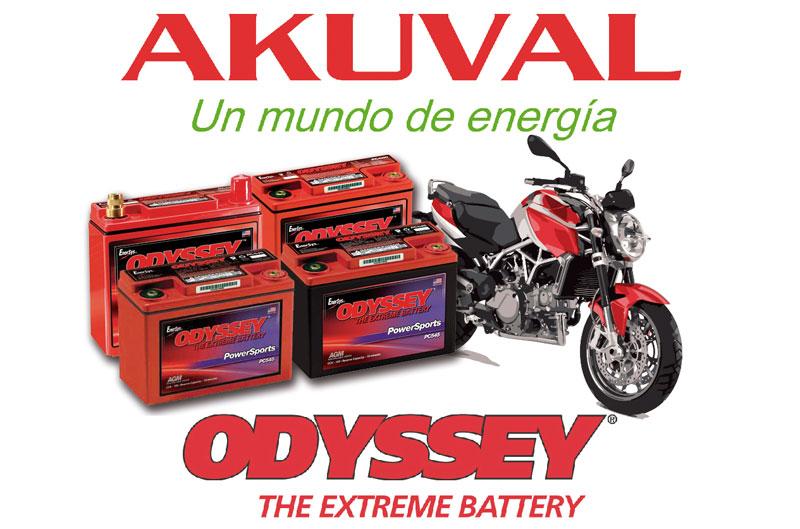 Akuval lanza su oferta de baterías sin mantenimiento Odyssey Powersports