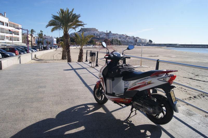 La vuelta a España en un SYM Jet4 R50