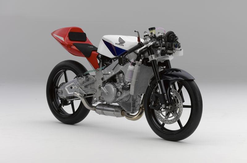 Honda NSF250R: el motor de Moto3