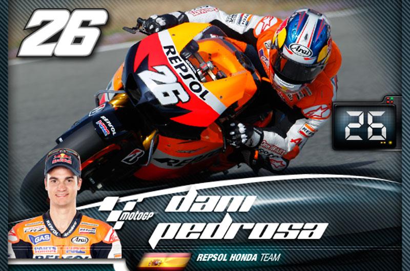 Cromos digitales del Mundial de Moto GP 2012