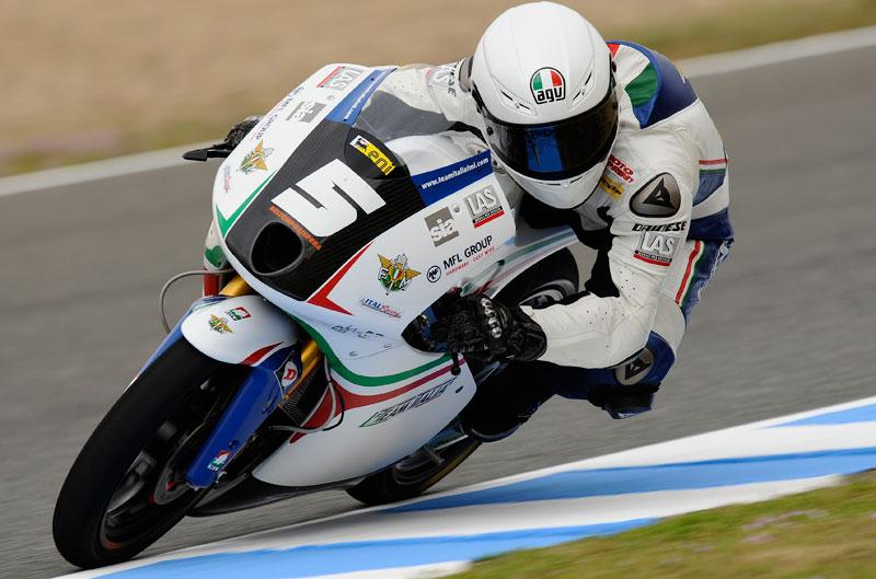 Romano Fenati gana el Gran Premio de España de Moto3