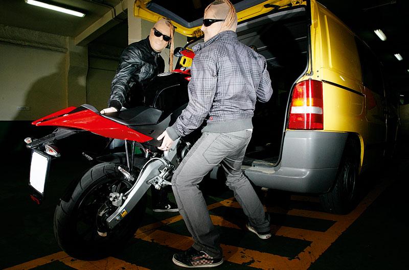 Encuesta de la semana: ¿Pones todos los medios para evitar que te roben la moto?