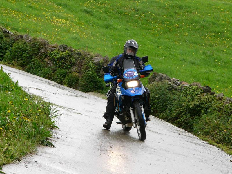 Trail Moto Series, en Treto