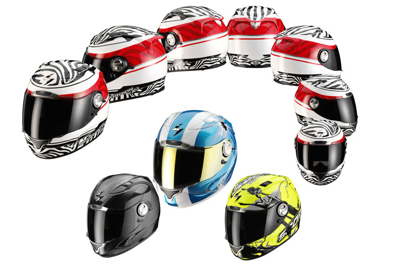 Nuevo casco Scorpion Exo 1000 Air