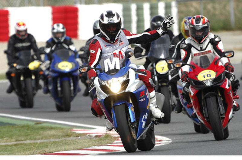 Rueda en Motorland con Suzuki Experience