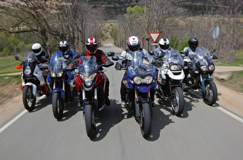 Comparativa maxitrail y mundiales de MotoGP, enduro y motocross