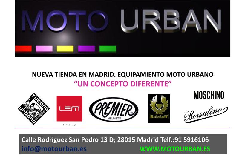 Moto Urban, una nueva tienda para el motorista