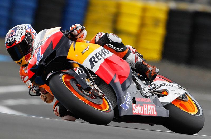 Stoner, Redding y Viñales los más rápidos en los FP2 del Gran Premio de Francia