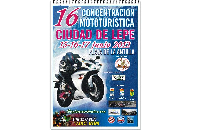 XVI CONCENTRACIÓN MOTOTURISTICA CIUDAD DE LEPE