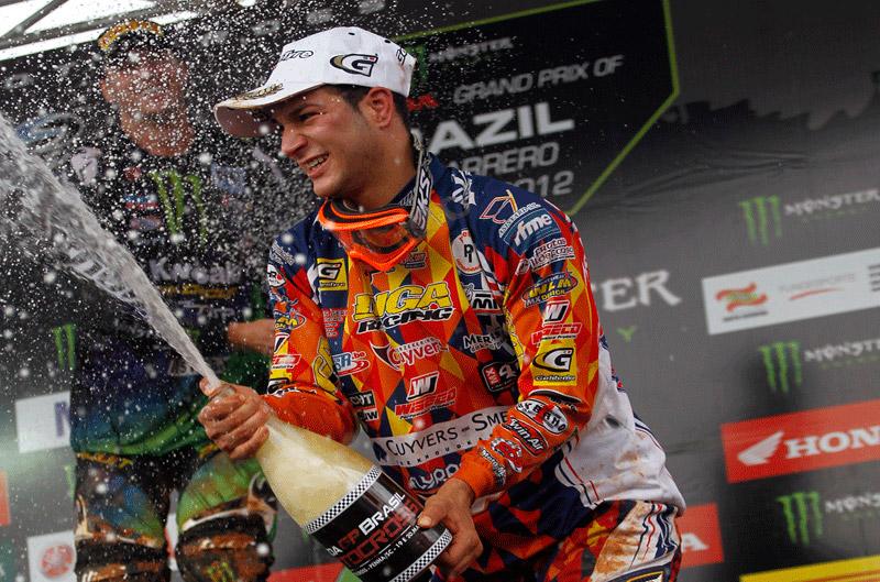 José Butrón sube al podio en Brasil