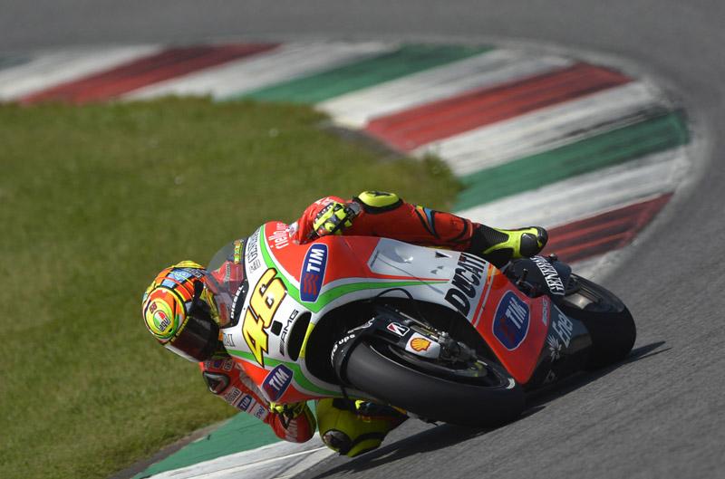 Entrenamientos de Ducati en Mugello