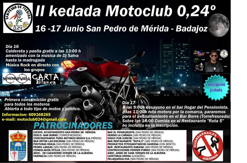 II Kedada MotoClub 0,24º
