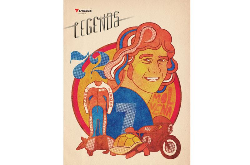Revista digital Dainese Legends