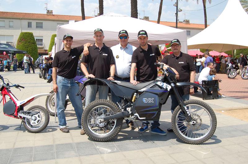 ALFER presenta sus nuevas motocicletas eléctricas