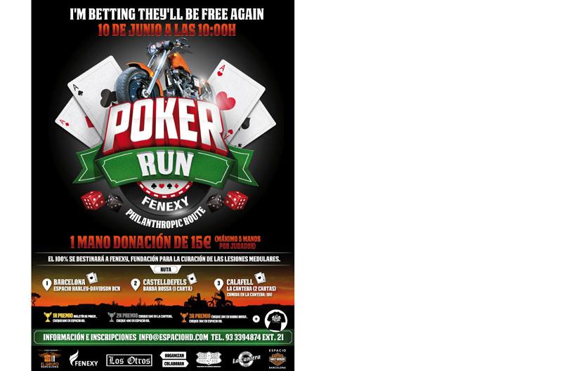 I Concentración Poker Run Fenexy