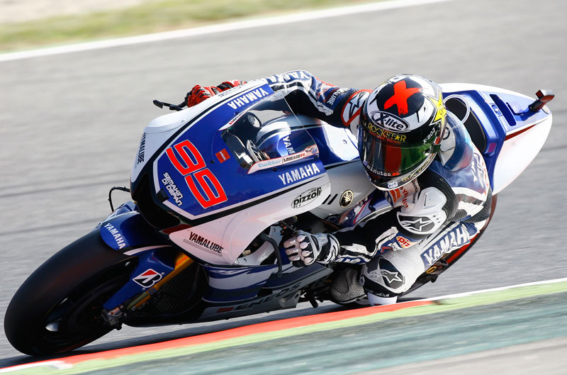 Lorenzo vence con autoridad en Montmeló con Stoner fuera del podio