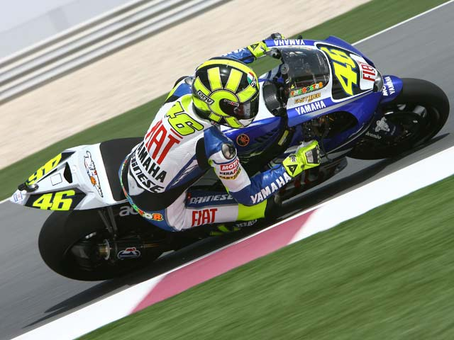 "Rossi, pole ""in extremis"""