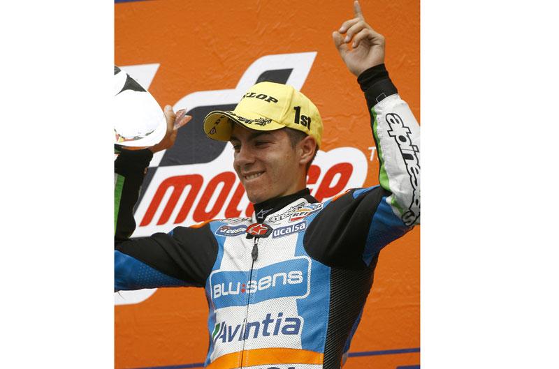 Maverick Viñales gana en Montmeló