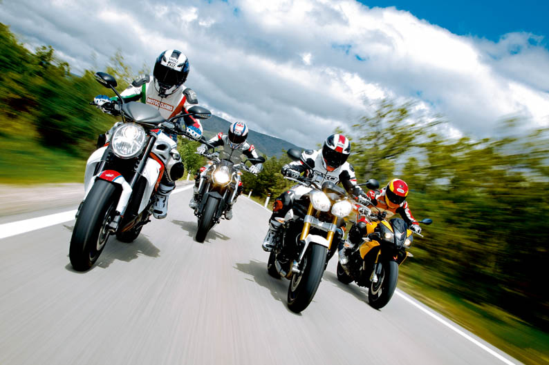 Comparativa Streetfighter: Aprilia, KTM MV Agusta y Triumph