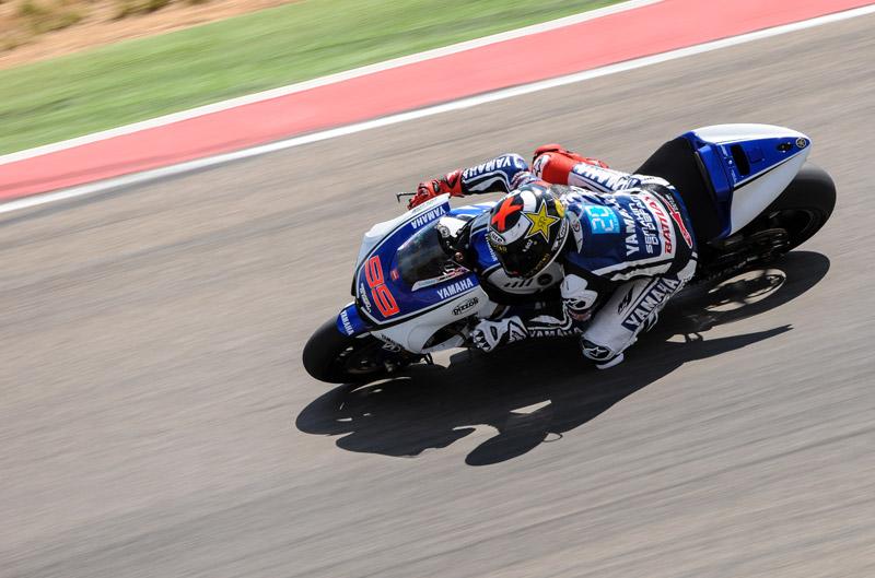 Jorge Lorenzo, el más rápido en Motorland