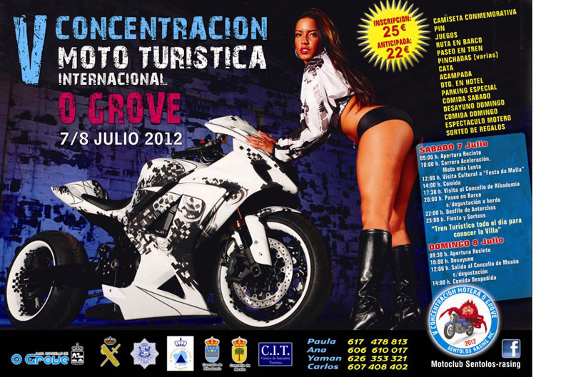 V Concentracion Mototurística Internacional O Grove