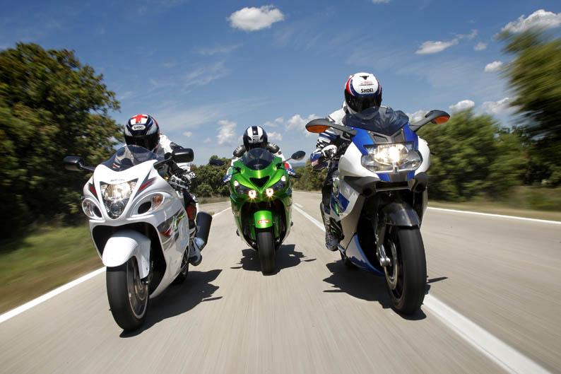 Comparativa Fast Bikes: BMW, Kawasaki y Suzuki