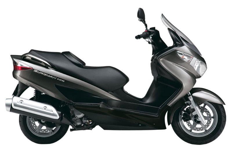 Tu Suzuki Burgman 125/200 por 125 euros al mes