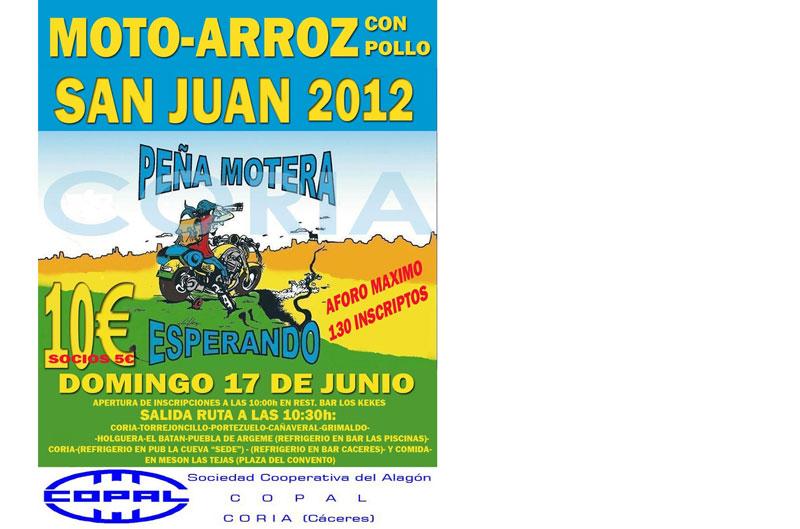MOTO-ARROZ CON POLLO. SAN JUAN 2012