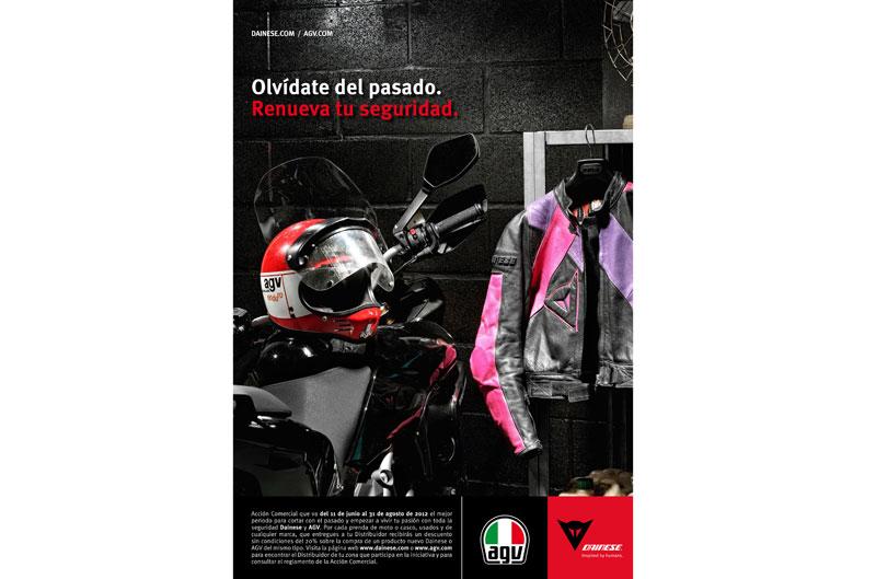 Novedades en ropa de moto de Dainese