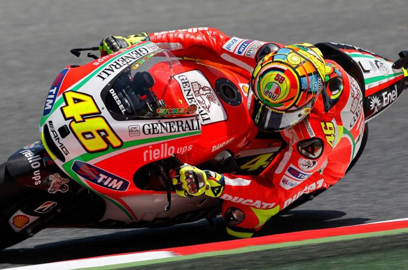 Valentino Rossi no termina de verlo claro