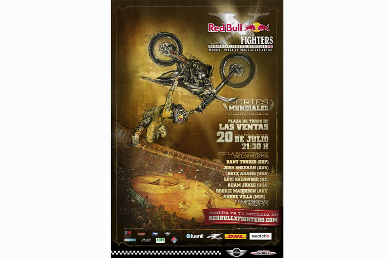 Los Red Bull X-Fighters 2012 llegan a Madrid