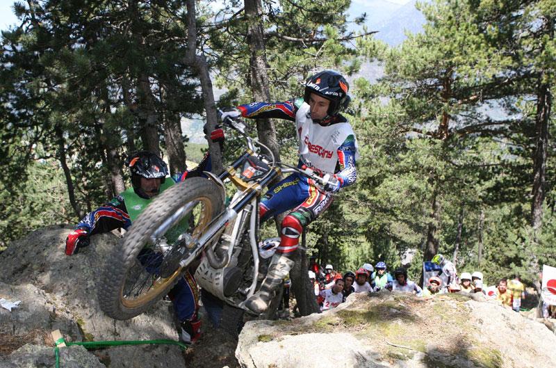 Campeonato del Mundo Trial: quinta prueba, Andorra