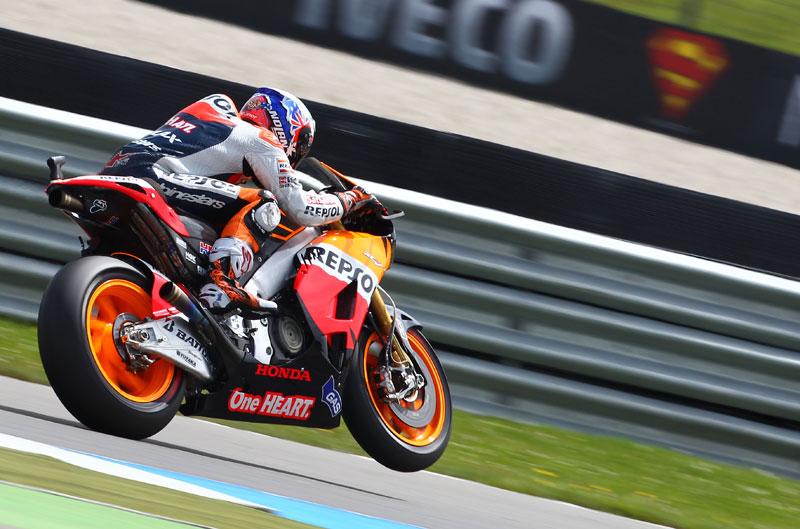 Victoria de Stoner en el GP de Holanda de MotoGP